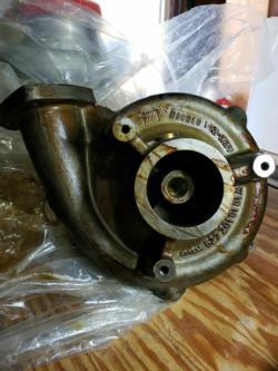 MTU Water Pump